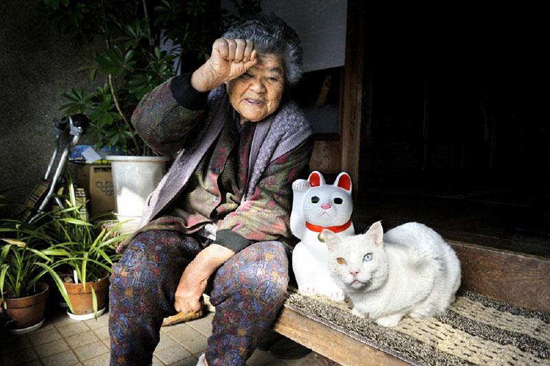 japonés abuela y su gato miyoko ihara (20)