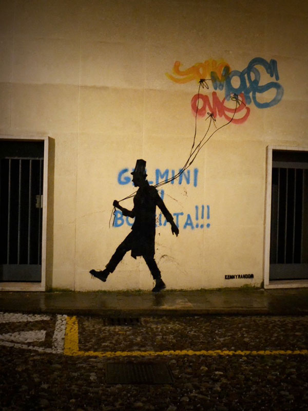 kenny random street art silhouette man (11)