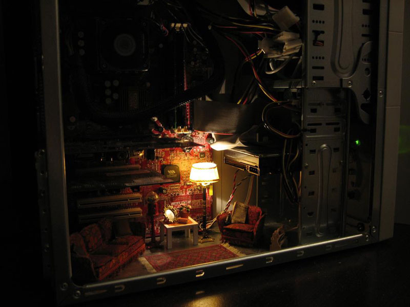 Picture of the Day: Living Inside yourComputer