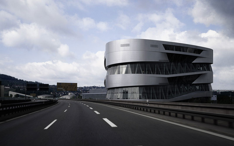 mercedes-benz museum by UNStudio (1)
