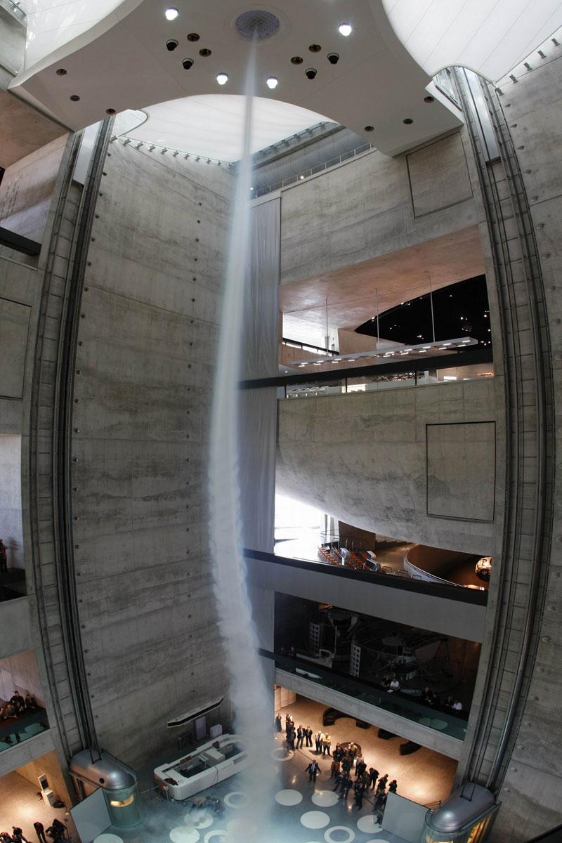 mercedes-benz museum stuttgart worlds largest strongest artificial tornado (3)