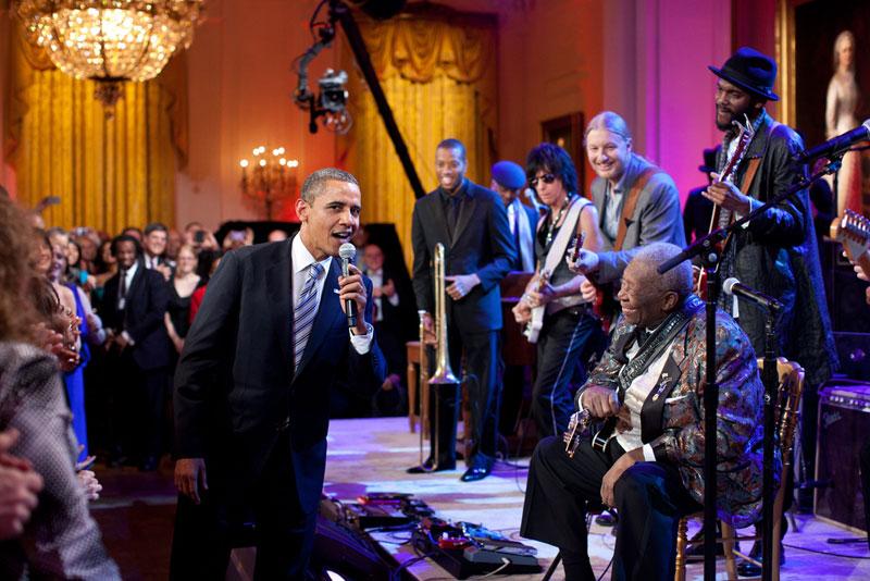 obama bb king
