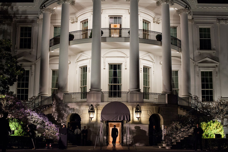 obama walking into white house The Project that Saved the White House from Collapse