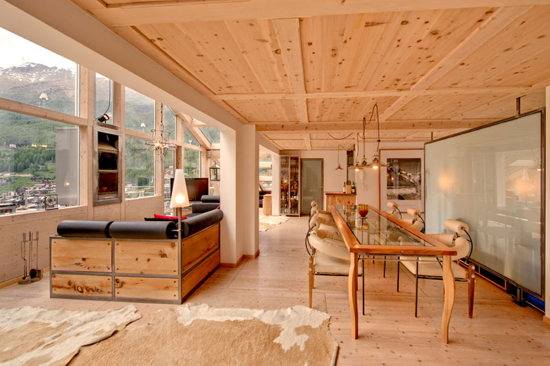 A Penthouse Chalet In The Swiss Alps 171 Twistedsifter