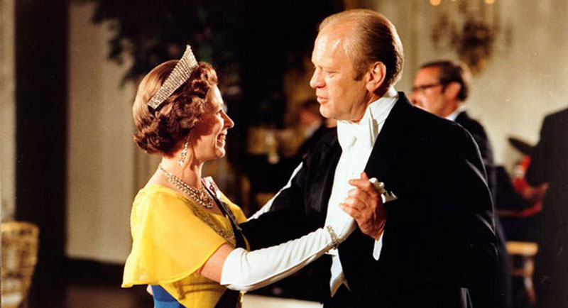 queen elizabeth gerald ford white house july 17 1976 washington Portraits of the Queen with the Last 12 U.S. Presidents