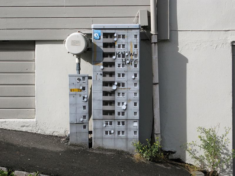 street art apartment building stencils by evol (11)