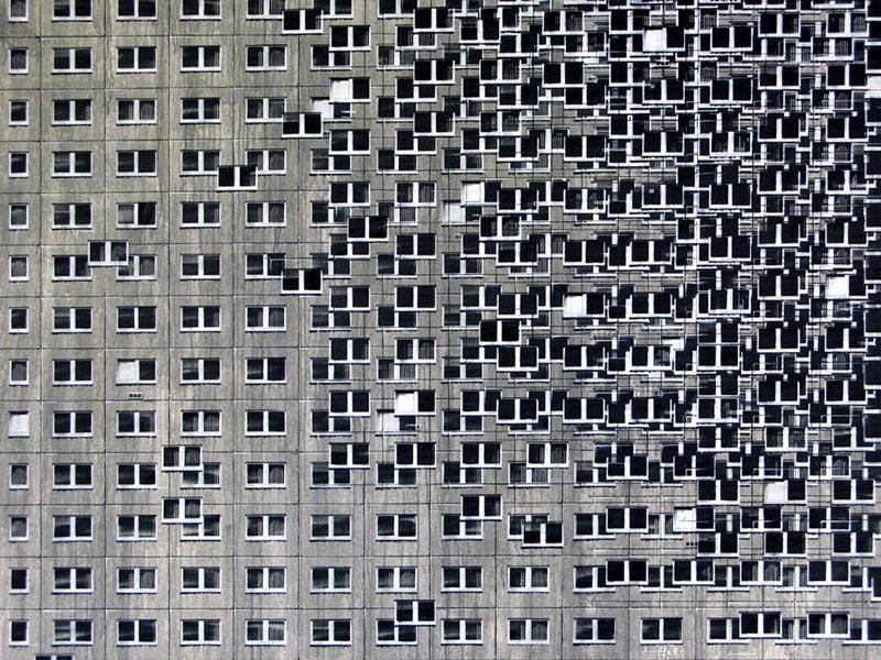 street art apartment building stencils by evol (13)