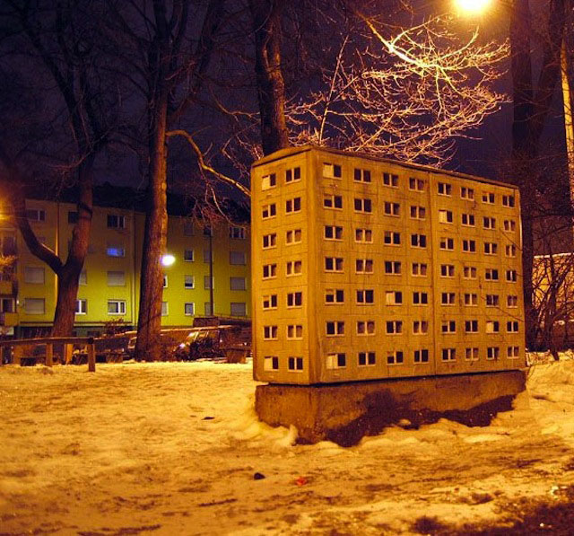 street art apartment building stencils by evol (15)