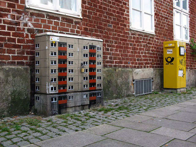street art apartment building stencils by evol (4)