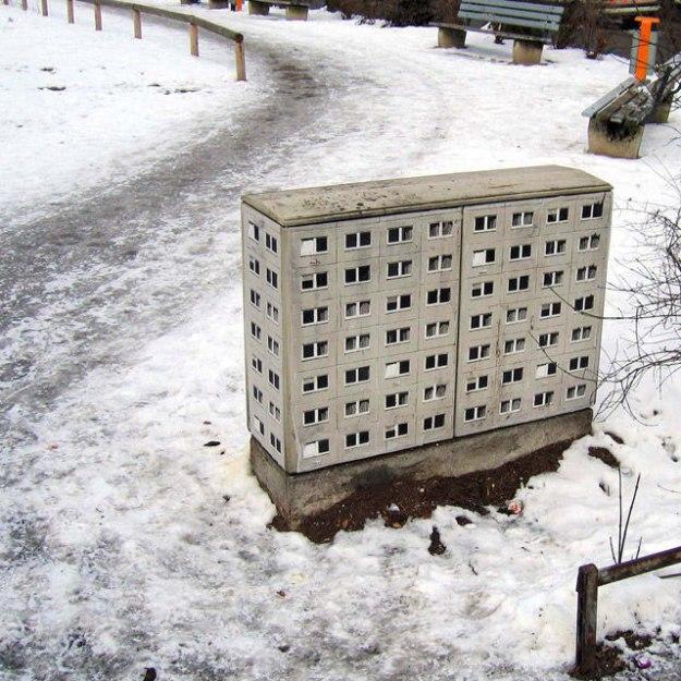 street art apartment building stencils by evol (5)
