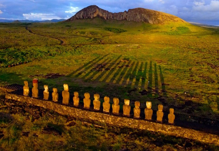 Sunrise at Easter Island