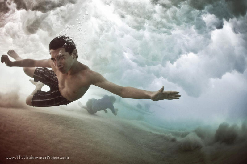 Beneath the Wave: Underwater Photos ofSwimmers