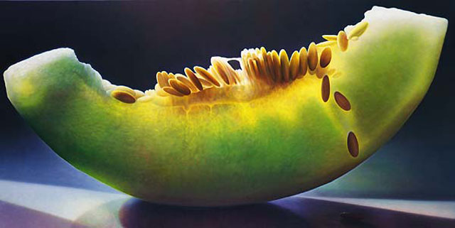 translucent oil paintings of fruit by Dennis Wojtkiewicz (7)