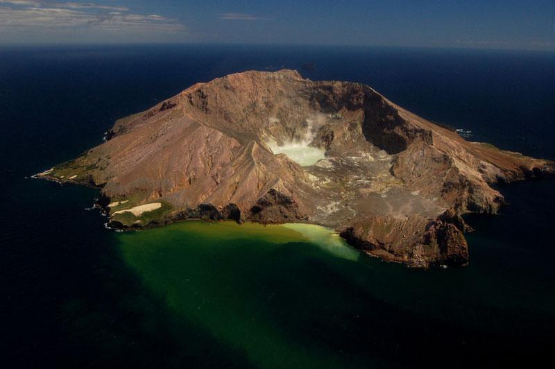 Volcanic Island New Zealand
