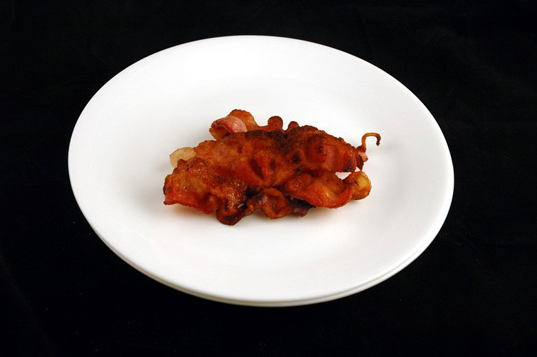 200 calories of fried bacon 34 grams 1 What 200 Calories of Various Foods Looks Like