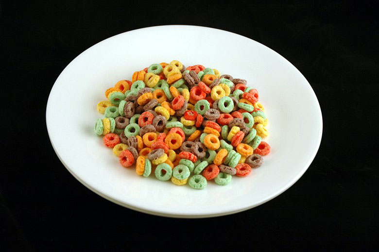 200 calories of fruit loops 51 grams 1 What 200 Calories of Various Foods Looks Like