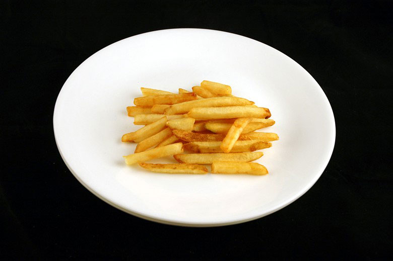 200 calories of jack in the box french fries 73 grams or 2 What 200 Calories of Various Foods Looks Like