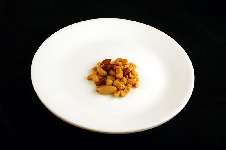 200 calories of salted mixed nuts 33 grams 1 What 200 Calories of Various Foods Looks Like