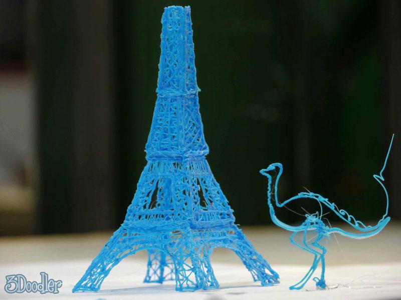 3d printing pen real time 3doodler (4)