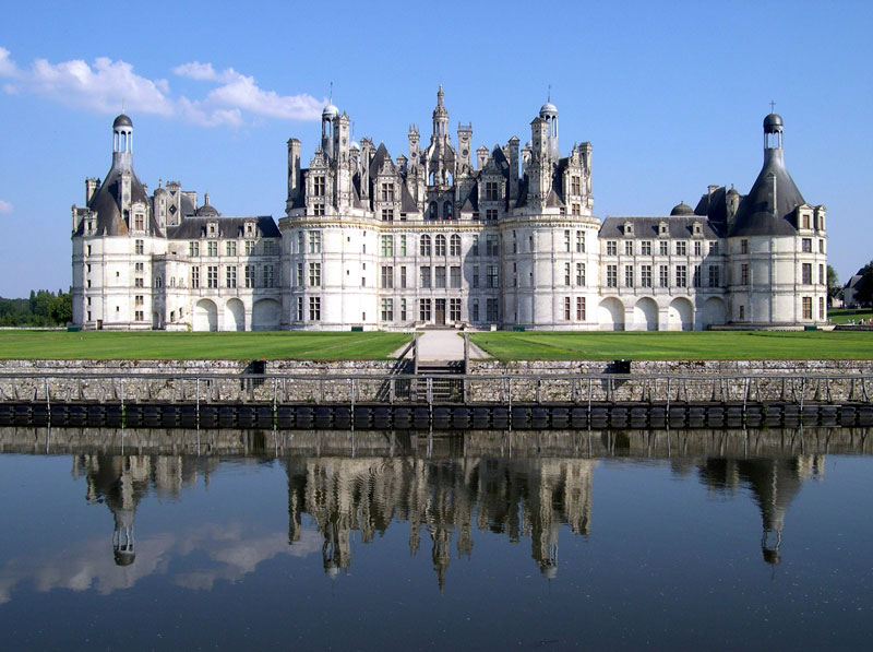 French Chateau Chambord