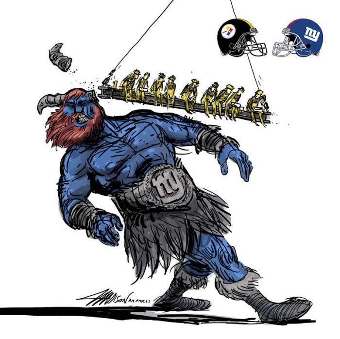 fantasy football matchups illustrated by pixar animator austin madison 4 New York City Travel Tips as Animated Gifs