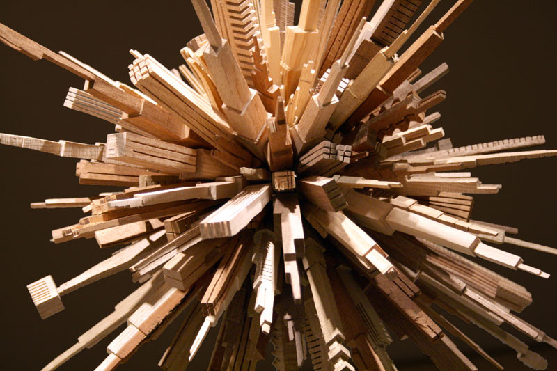 james mcnabb city sphere scrap wood sculpture (1)
