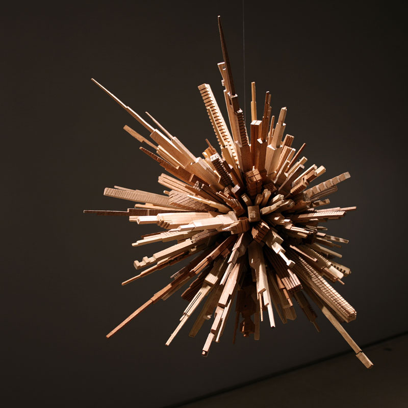 james mcnabb city sphere scrap wood sculpture (2)
