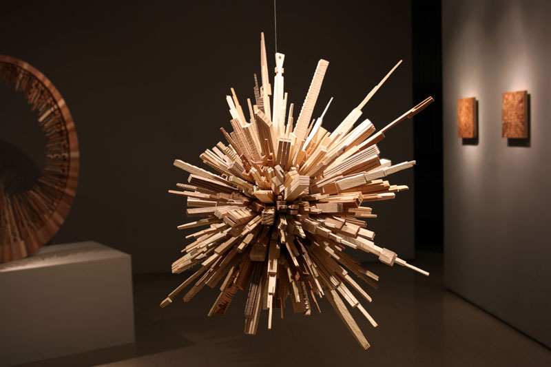 Cityscape Sculptures Carved From Scrap Wood 171 Twistedsifter