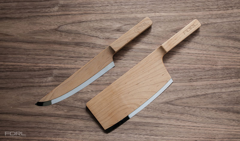 kitchen knives made from maple wood by the federal FDRL (3)