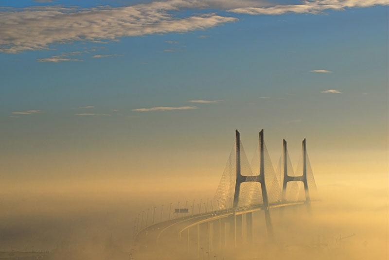 longest bridge in europe vasco-da-gama-bridge-lisbon-portugal
