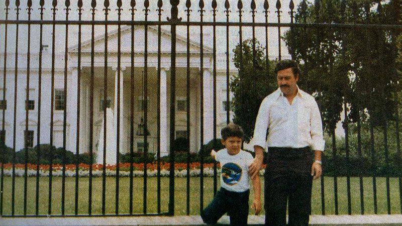 Picture of the Day: Pablo Escobar Visits the WhiteHouse