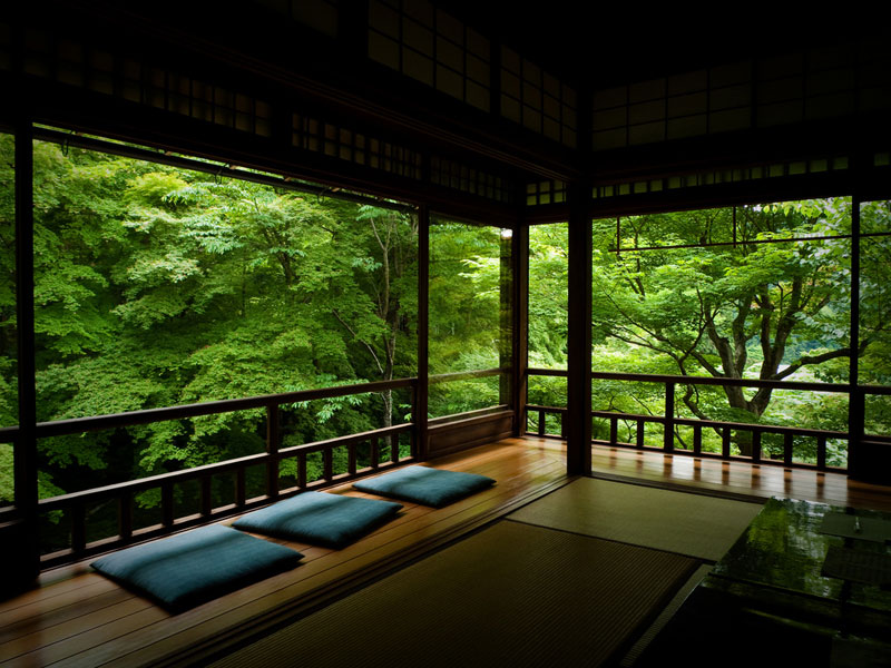 Picture of the day japanese tea room in kyoto twistedsifter - Decoration zen et nature ...