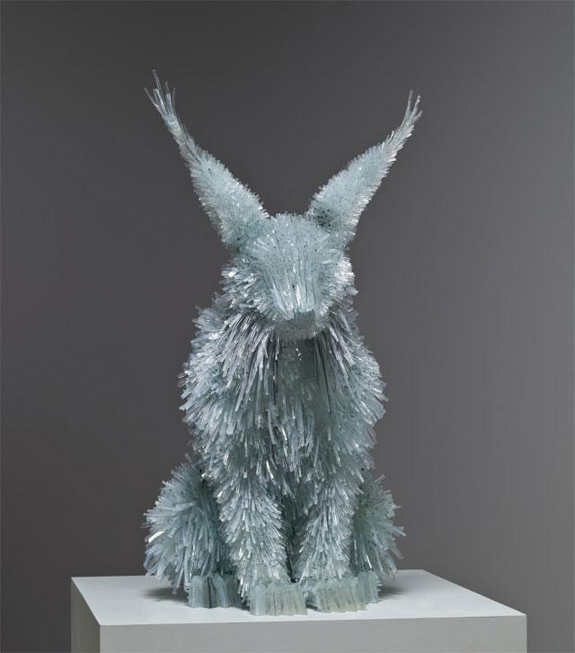 разрушены стекла и животных-скульптура-Марта-klonowska-1