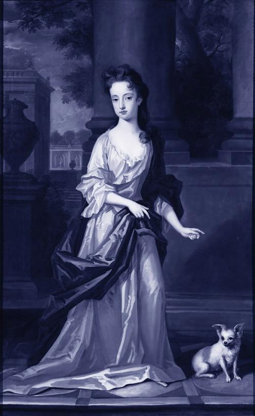 осколки стекла скульптуры животных Марта klonowska портрет-в-а-Young-Girl-после-Charles-d'Agar-2