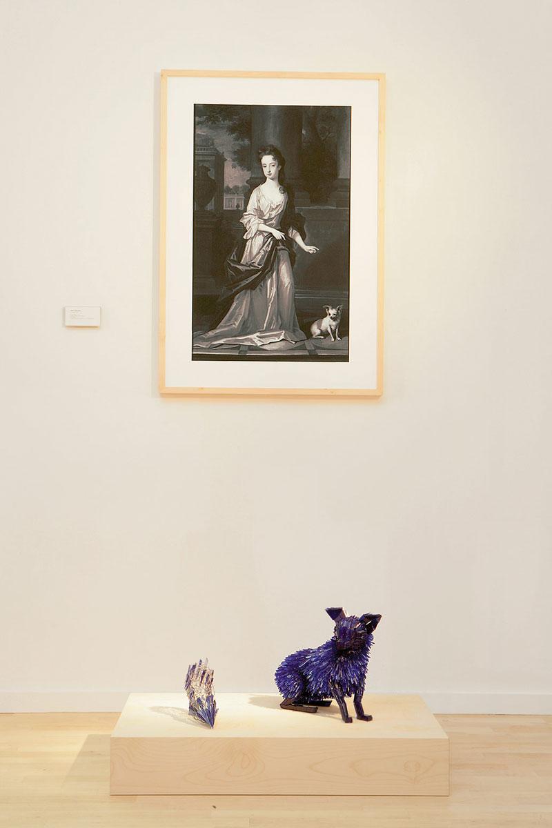 разрушены стекла и животных-скульптура-Марта-klonowska-портрет-в-а-Young-Girl-после-Charles-d'Agar-2