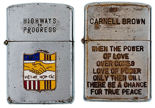 soldiers engraved zippo lighters from the vietnam war (10)