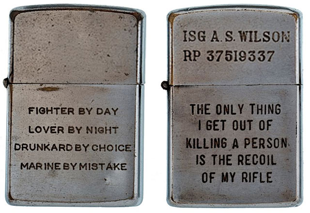 soldiers engraved zippo lighters from the vietnam war (12)