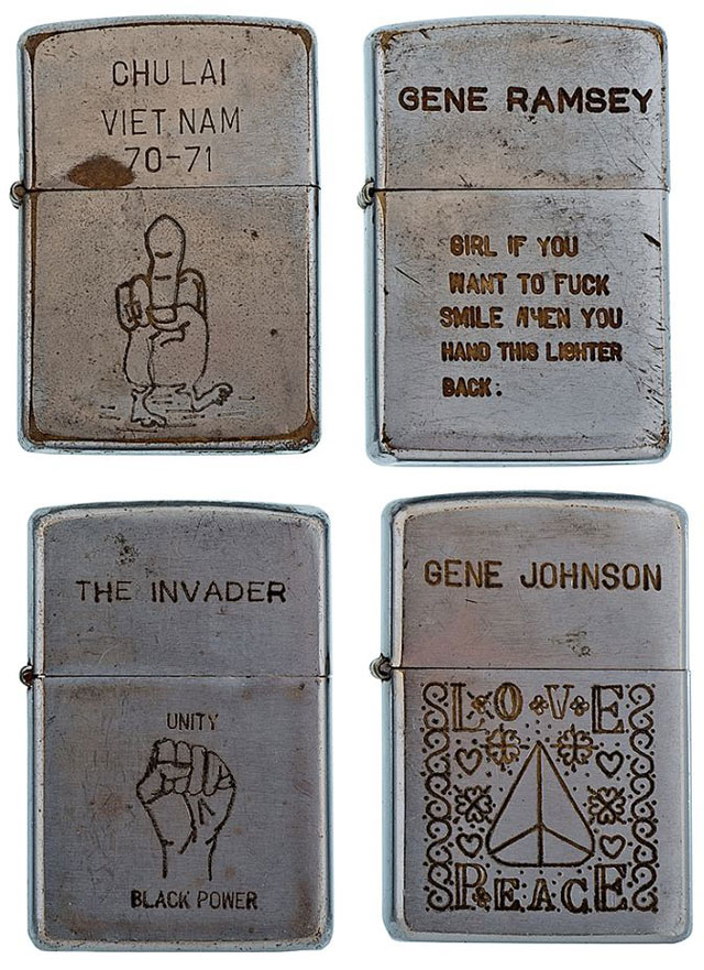 soldiers engraved zippo lighters from the vietnam war (19)