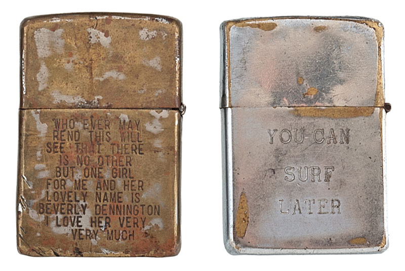 Soldiers Engraved Lighters From Vietnam 171 Twistedsifter