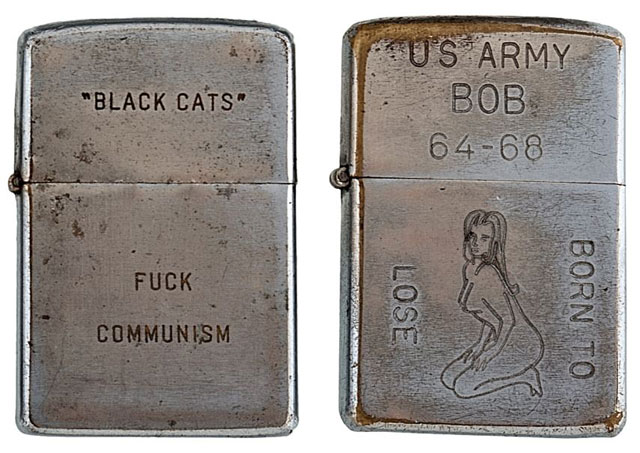 soldiers engraved zippo lighters from the vietnam war (7)