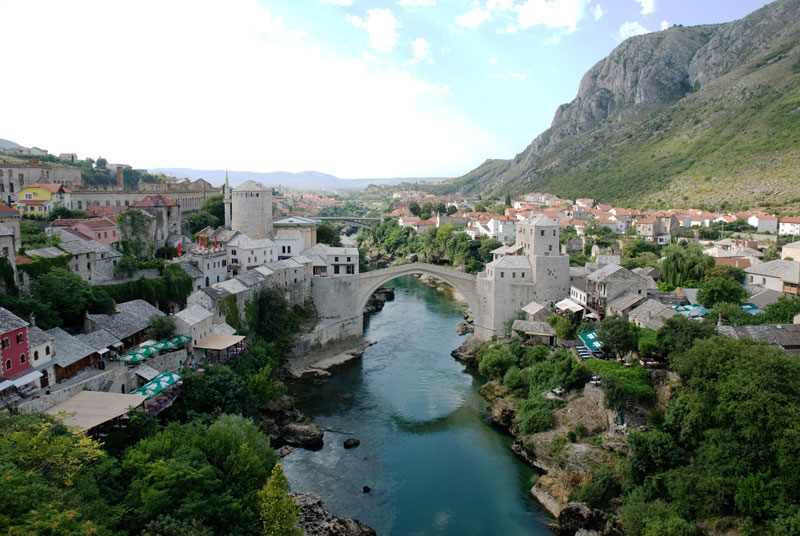 stari most old bridge mostar bosnia and herzegovina Picture of the Day: Stari Most and the City of Mostar
