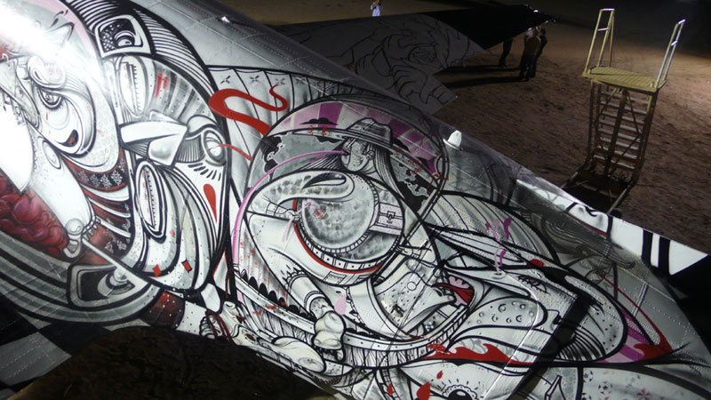 the boneyard project art on old planes (16)