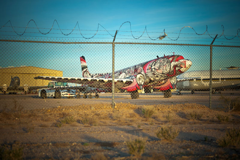the boneyard project art on old planes (17)