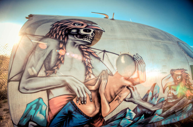 the boneyard project art on old planes (23)