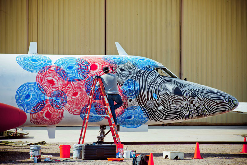 the boneyard project art on old planes (3)