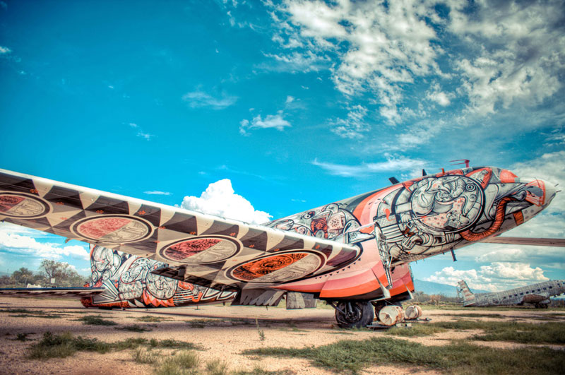 the boneyard project art on old planes (9)