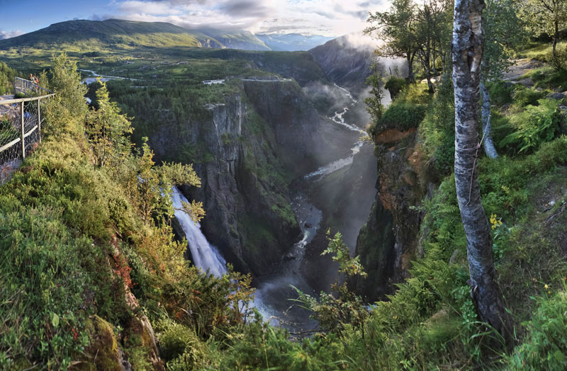 voringsfossen waterfall mabodalen norway The Top 25 Pictures of the Day for 2013