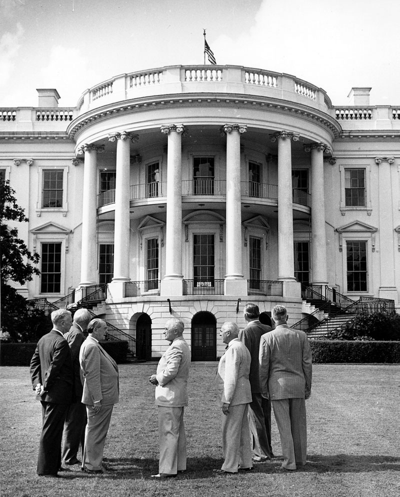 white house gutted truman restoration 1949 - 1951 (1)