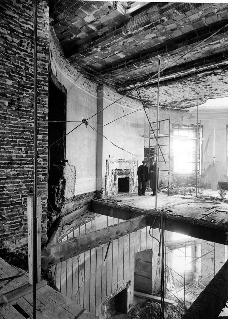 white house gutted truman restoration 1949 - 1951 (12)