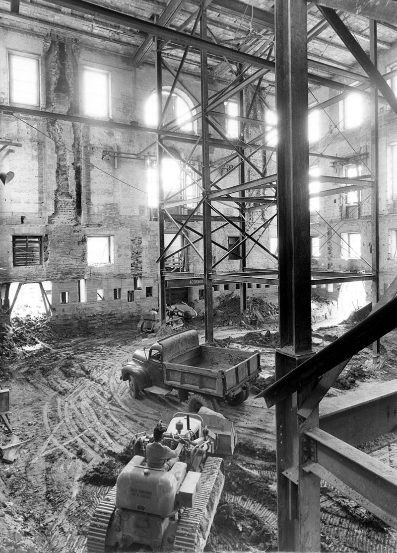 white house gutted truman restoration 1949 - 1951 (13)